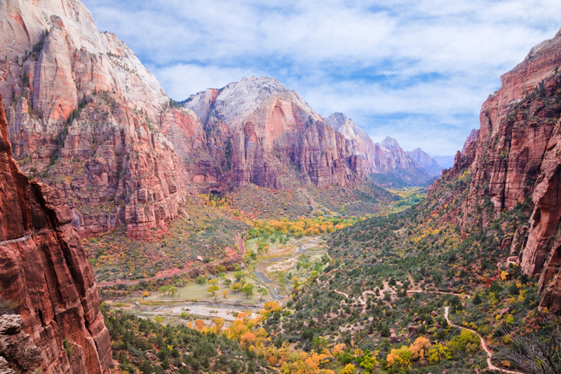 Zion Canyon National Park, Utah
