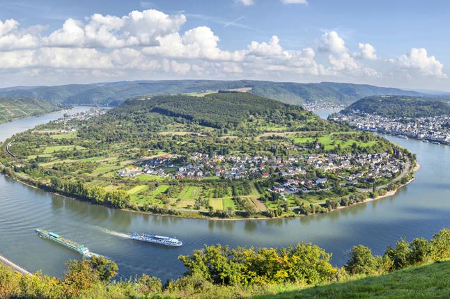 נופים, תרבות ומוסיקה בעמק הריין