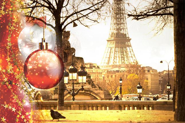 פריז בחג המולד