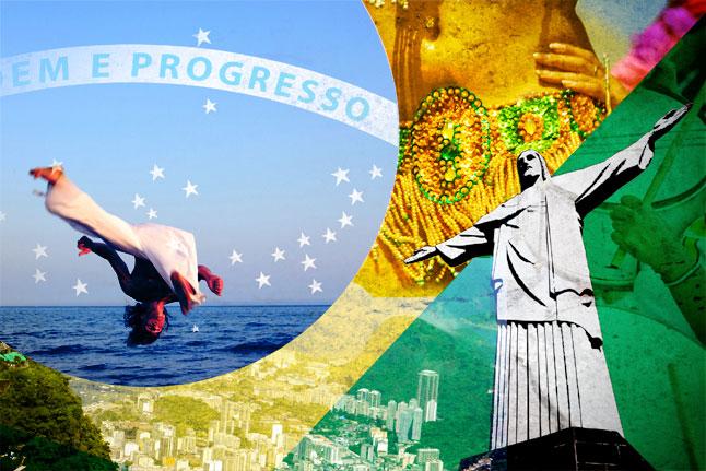 ברזיל - ארץ טרופית יפה