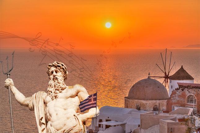 יוון - האלים, האיים והמוסיקה בזום