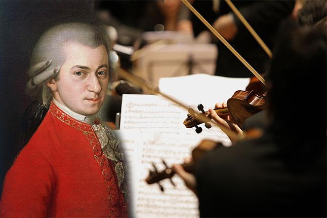 מוצרט והגאונות