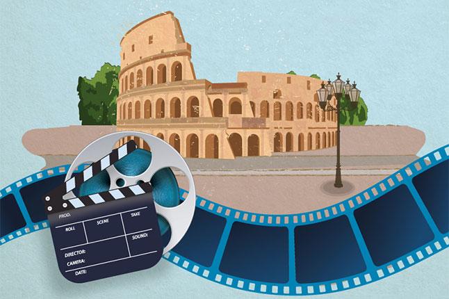 רומא מהסרטים